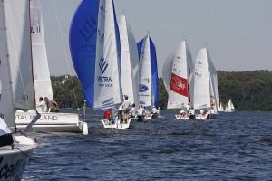Otwarte Mistrzostwa Warszawy Jachtów Kabinowych - flota